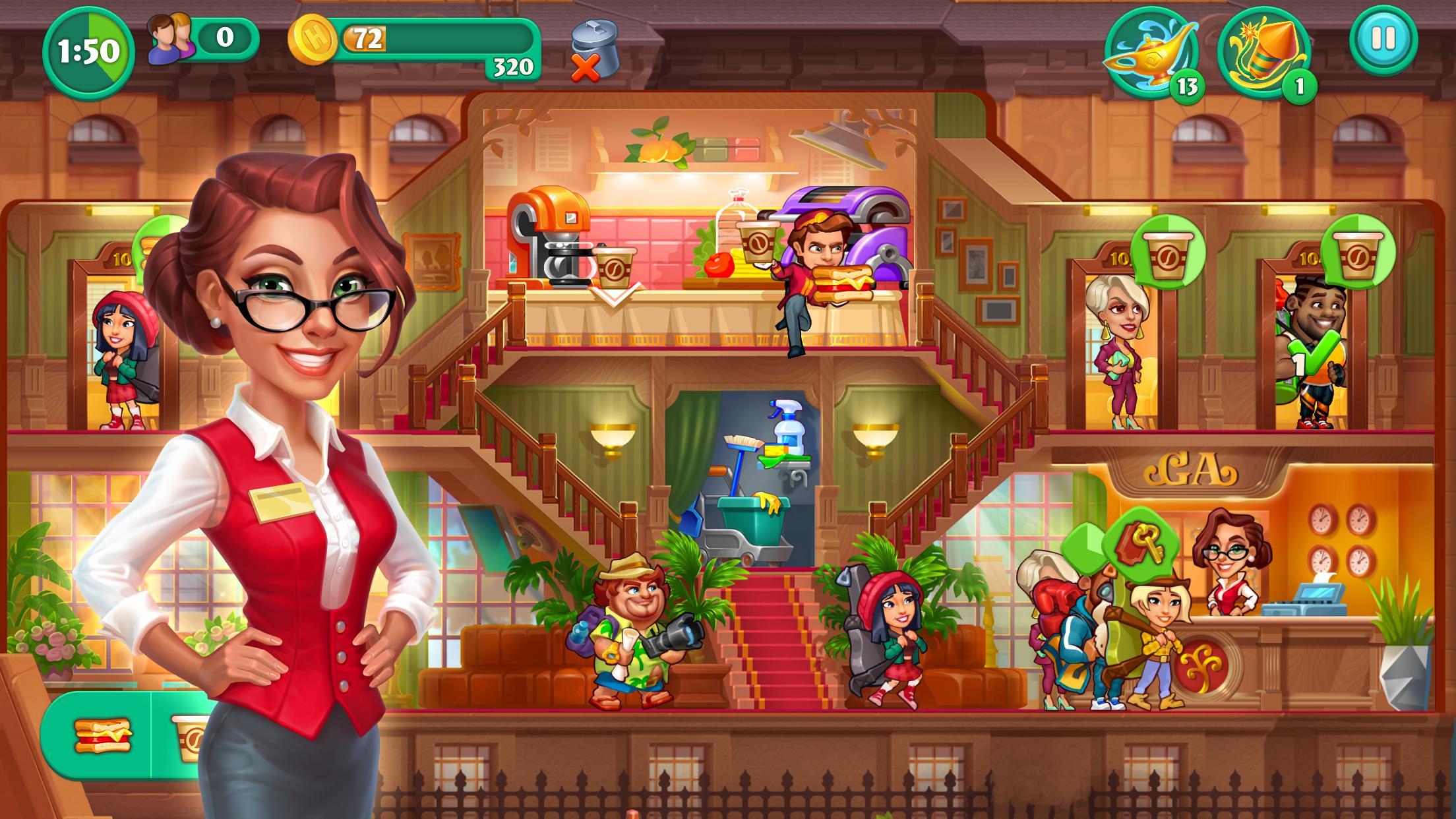 Grand Hotel Mania – Hotel Adventure Game 1.12.2.1 Screenshot 2