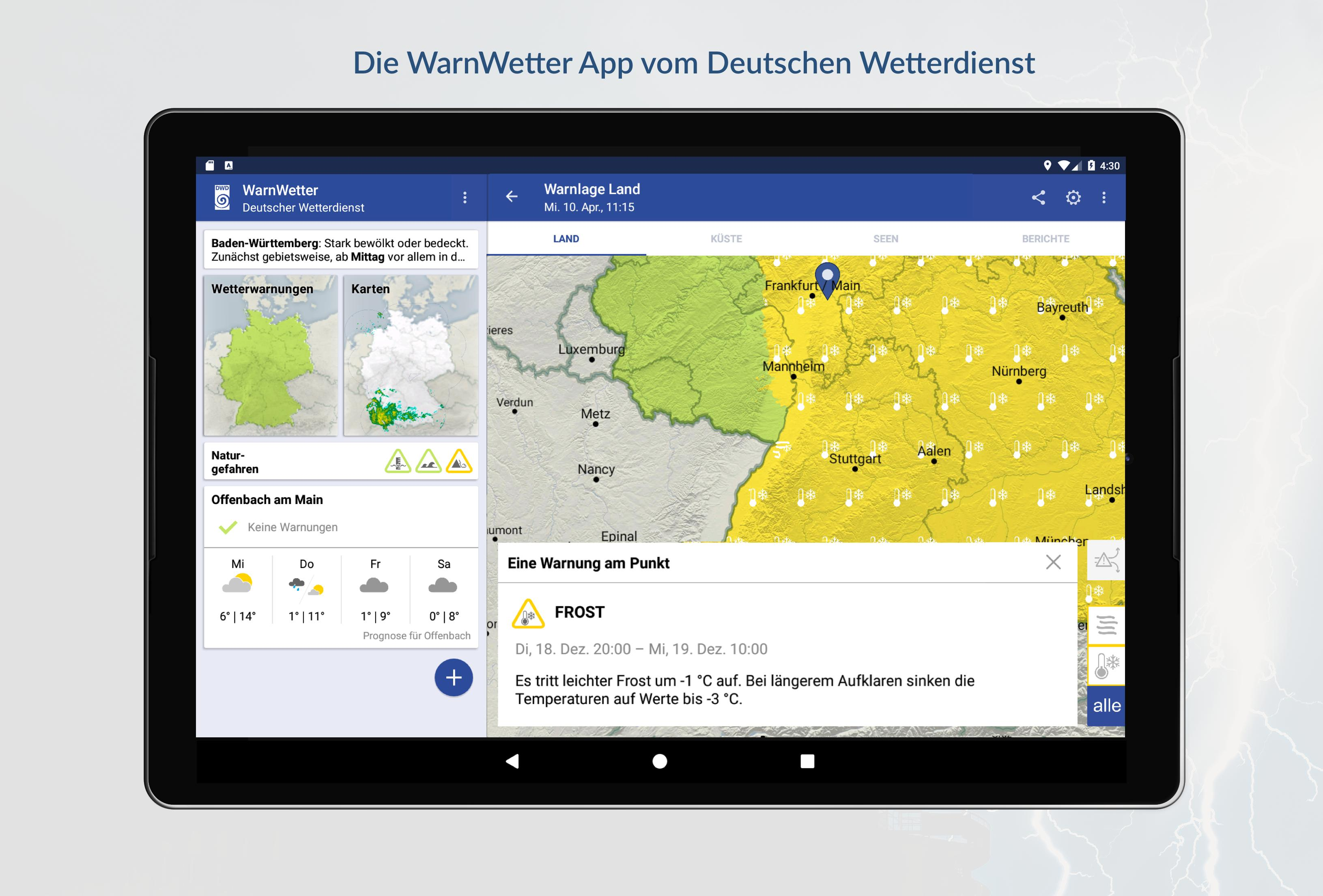 WarnWetter 2.3.1 Screenshot 8