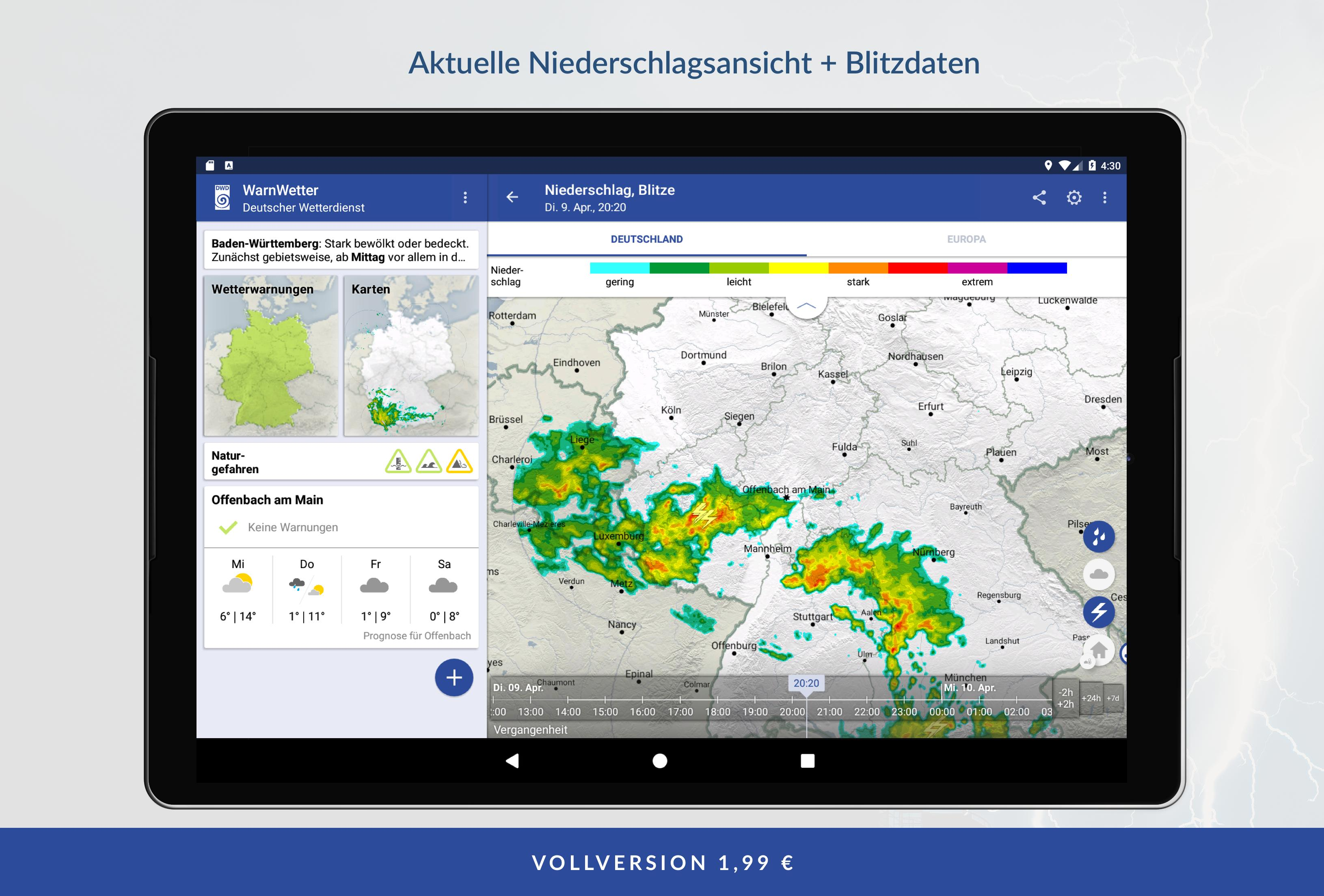 WarnWetter 2.3.1 Screenshot 9