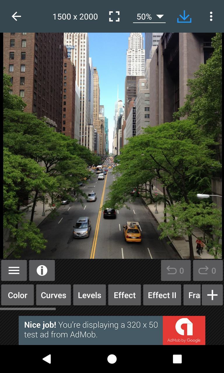 Photo Editor 6.2 Screenshot 1