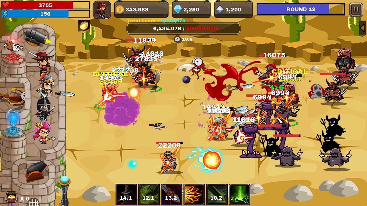 Final Castle Grow Castle 1.8.0 Screenshot 2