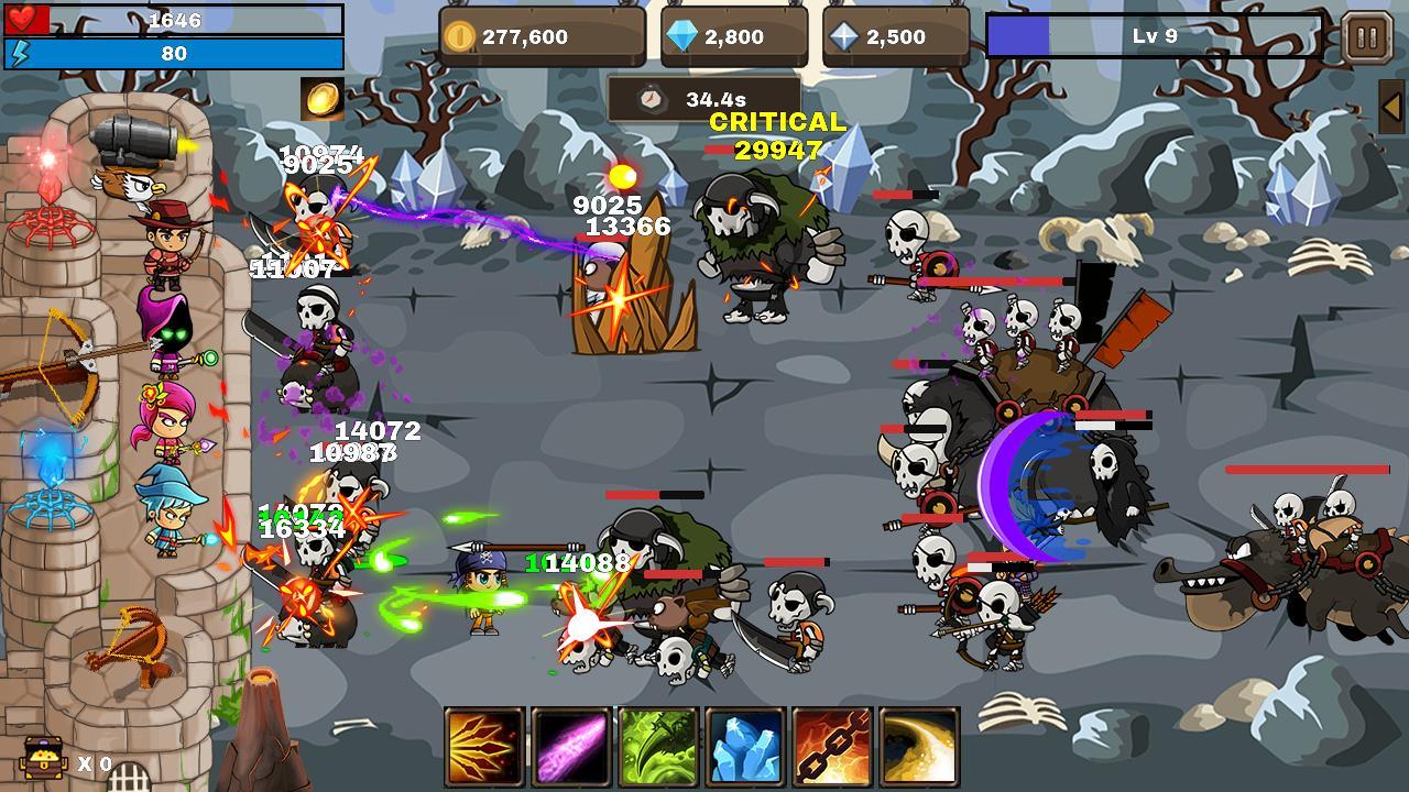 Final Castle Grow Castle 1.8.0 Screenshot 5