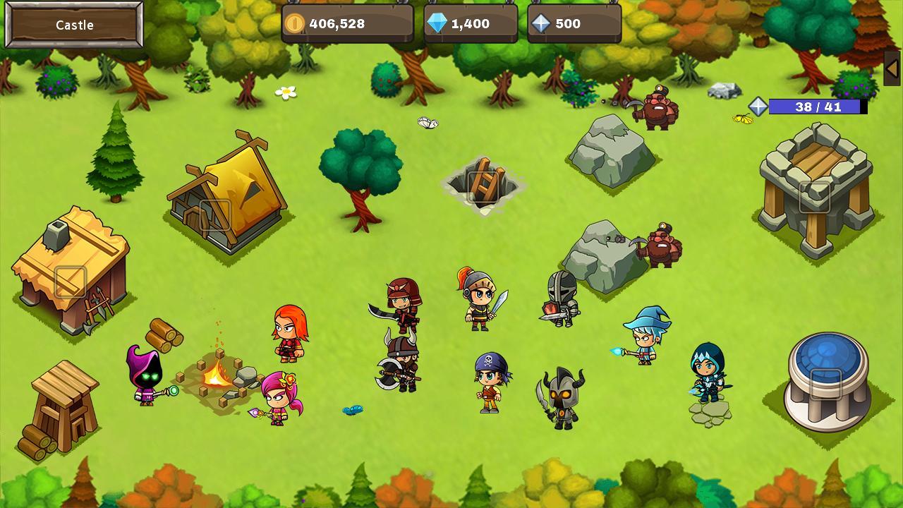 Final Castle Grow Castle 1.8.0 Screenshot 7