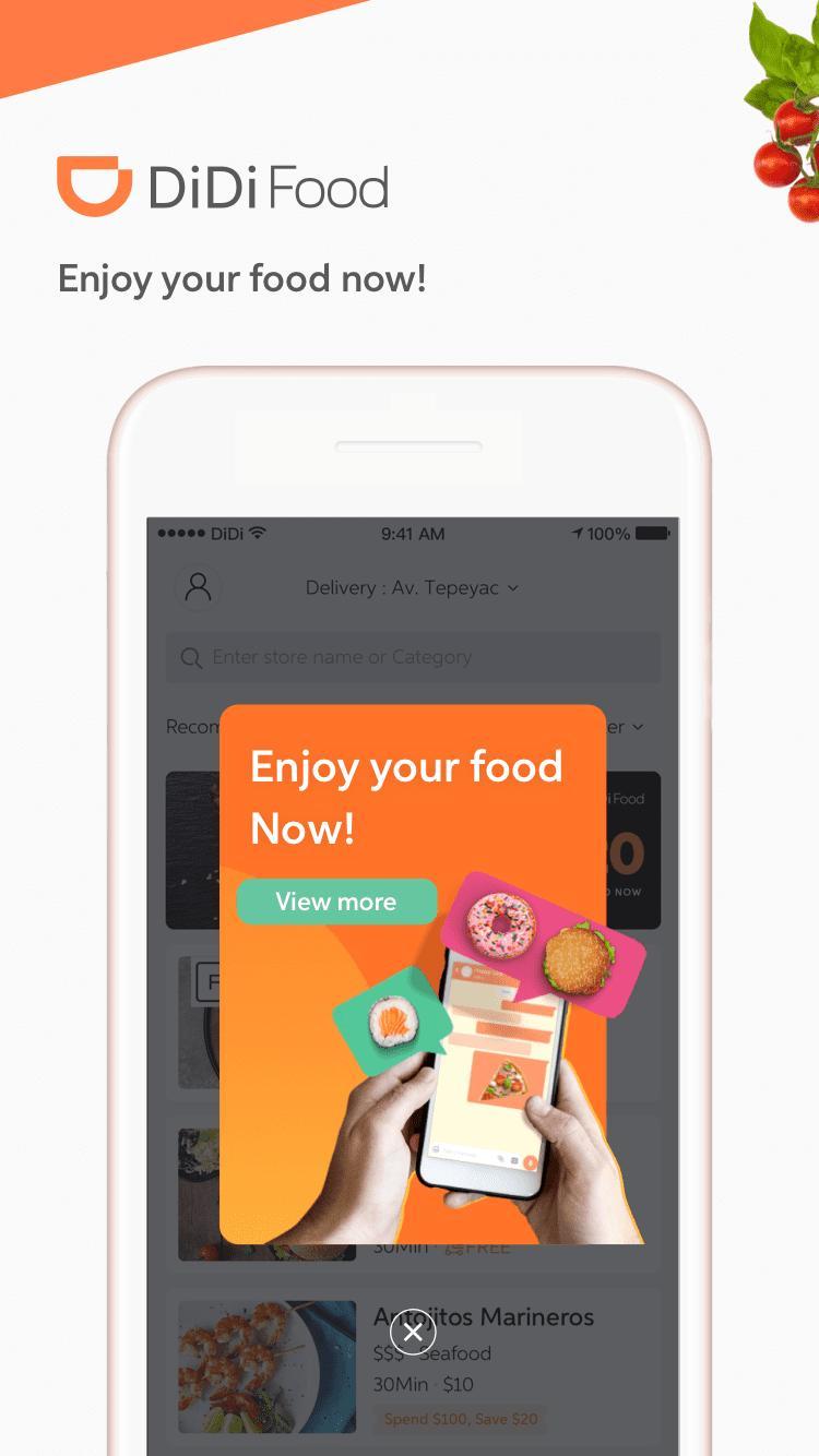 DiDi Food – Food Delivery 1.2.50 Screenshot 1