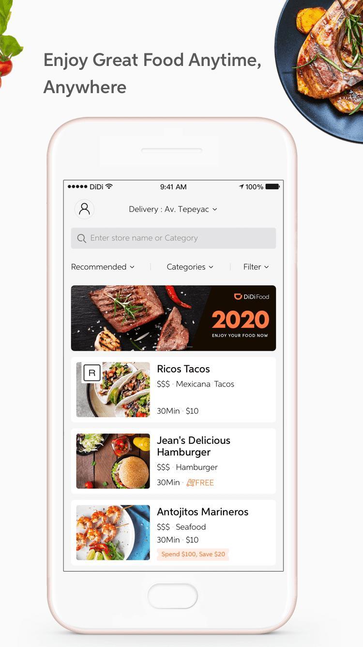 DiDi Food – Food Delivery 1.2.50 Screenshot 2