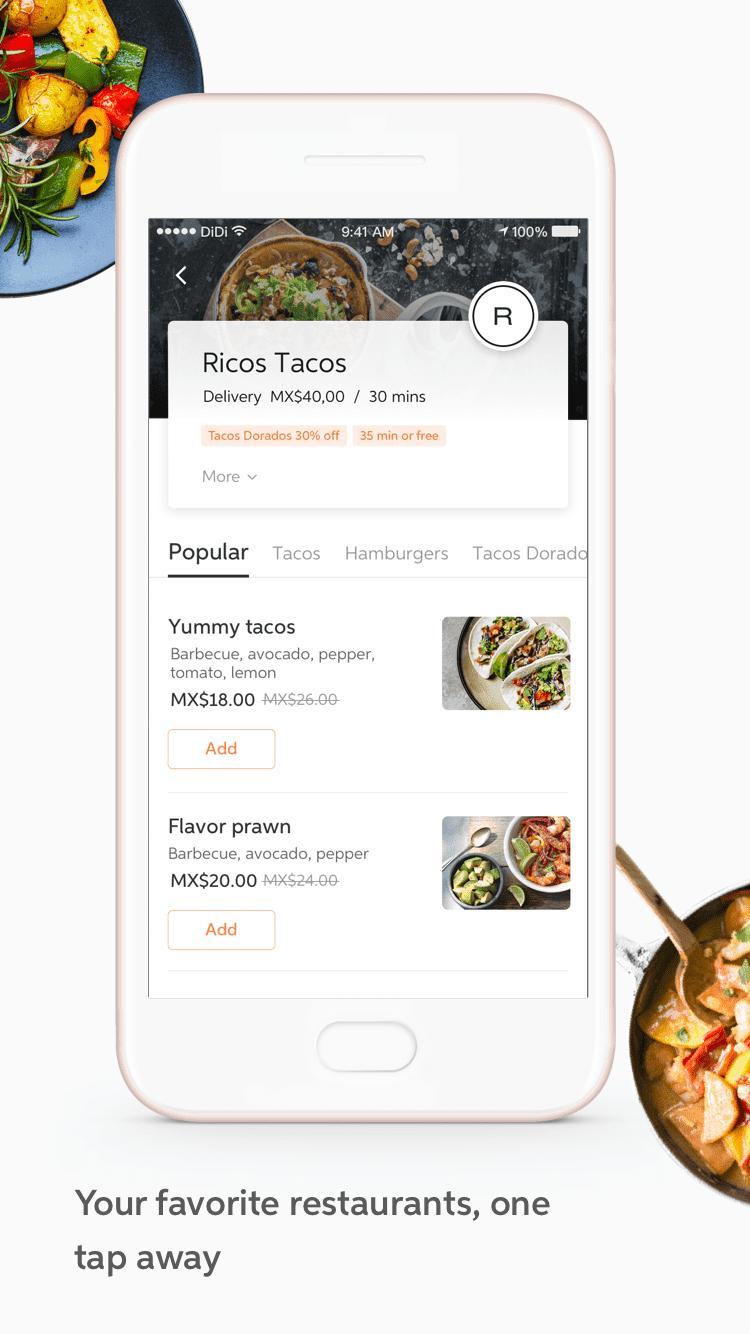 DiDi Food – Food Delivery 1.2.50 Screenshot 3
