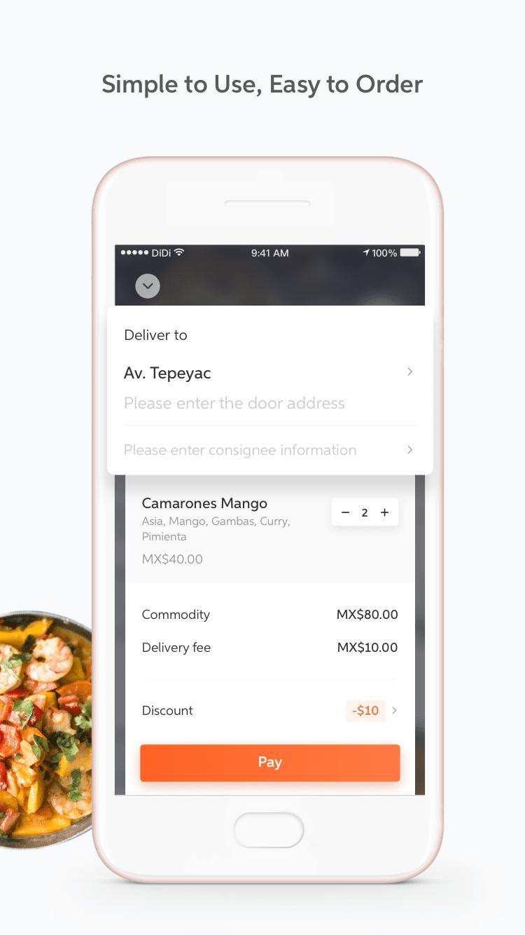DiDi Food – Food Delivery 1.2.50 Screenshot 4