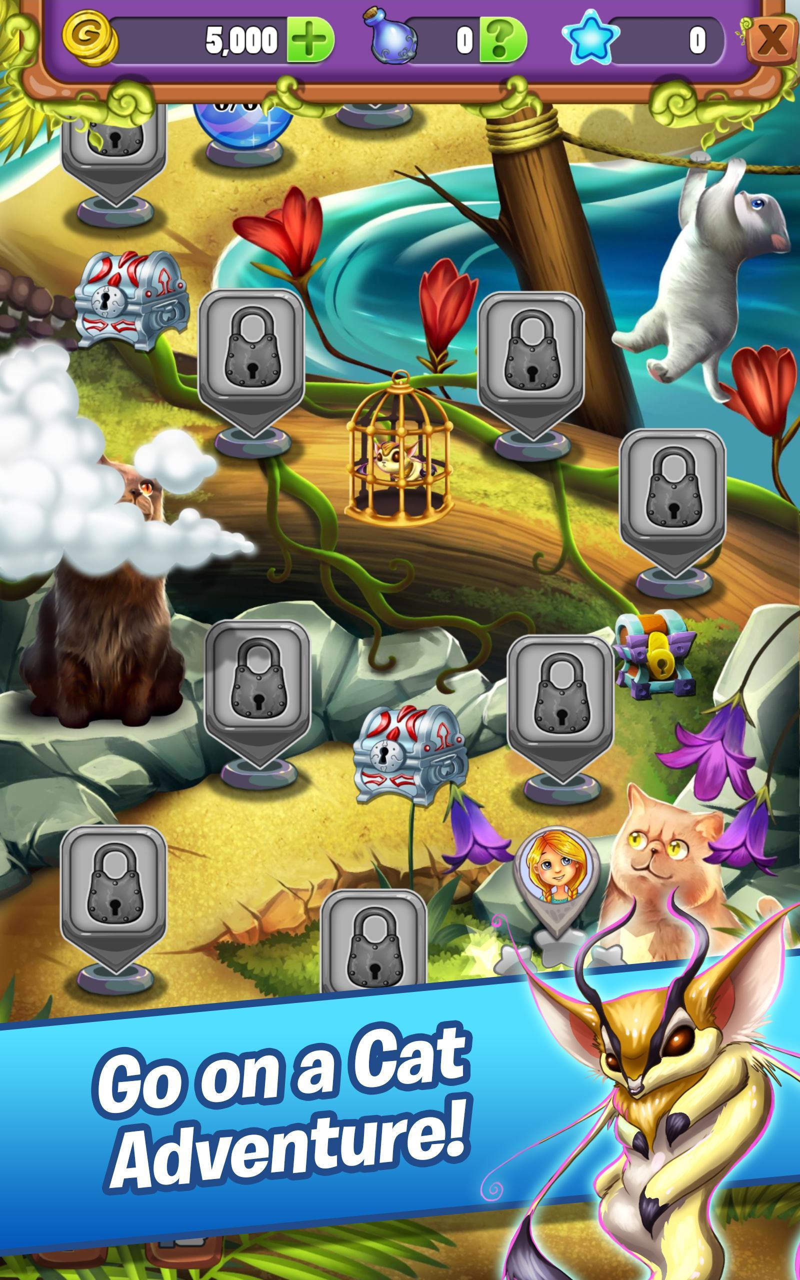 Hidden Mahjong - Cats Tropical Island Vacation 1.0.47 Screenshot 7