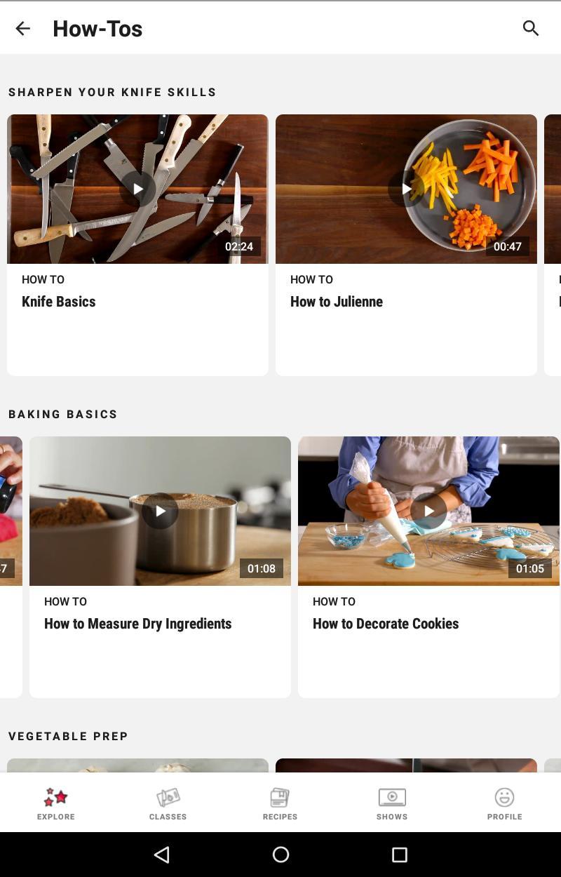 Food Network Kitchen 6.4.0 Screenshot 11