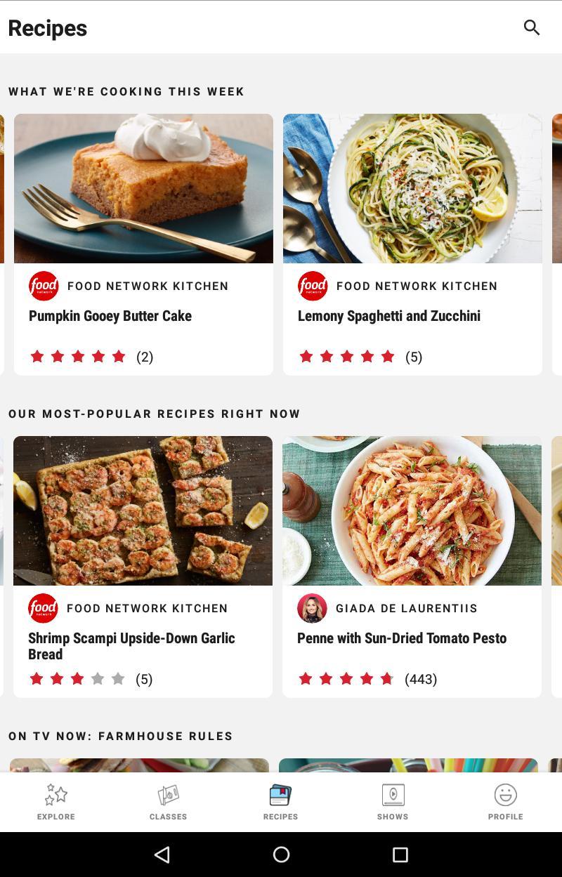 Food Network Kitchen 6.4.0 Screenshot 12