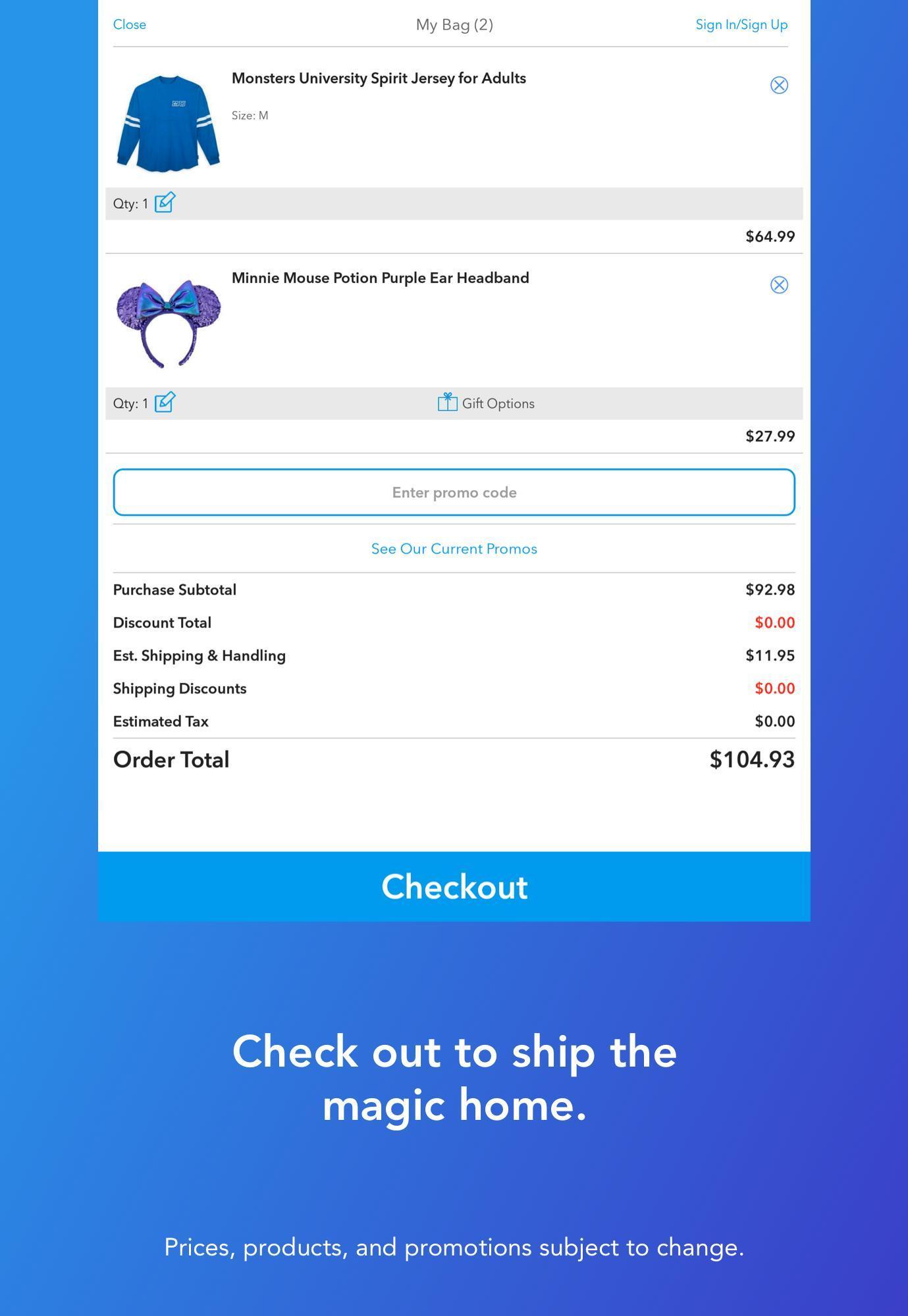 Shop Disney 3.1.1 Screenshot 10