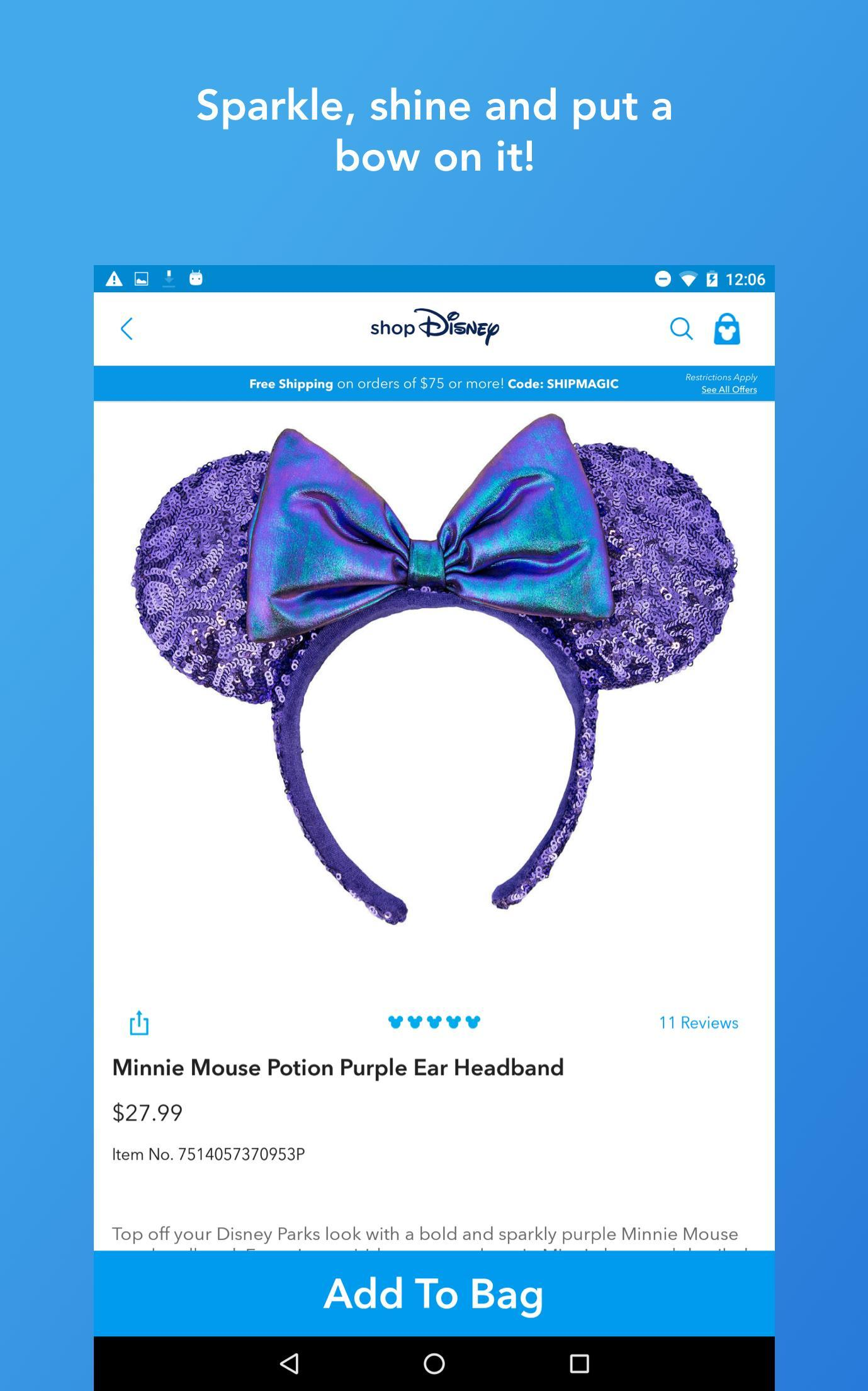 Shop Disney 3.1.1 Screenshot 14