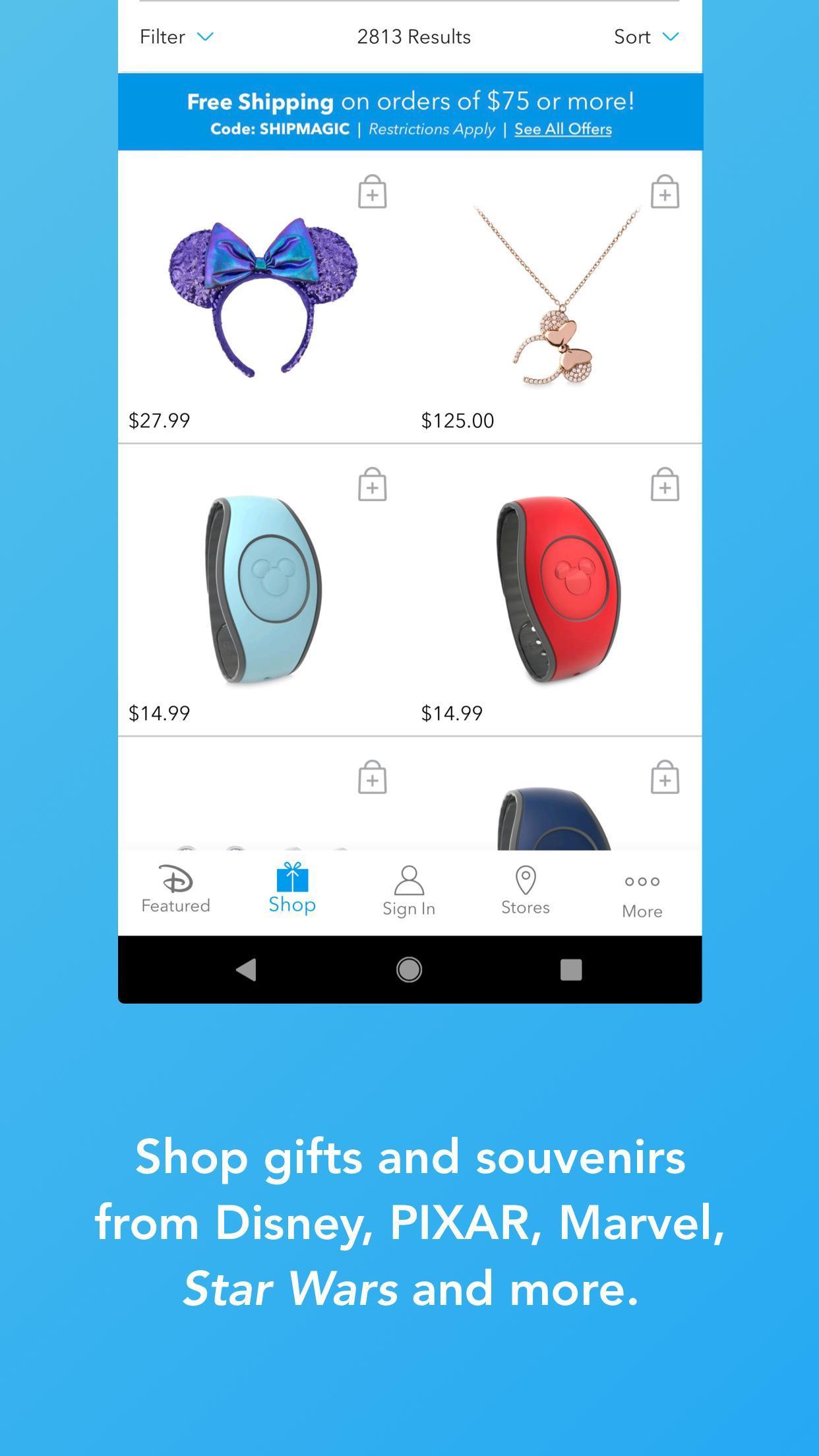 Shop Disney 3.1.1 Screenshot 3