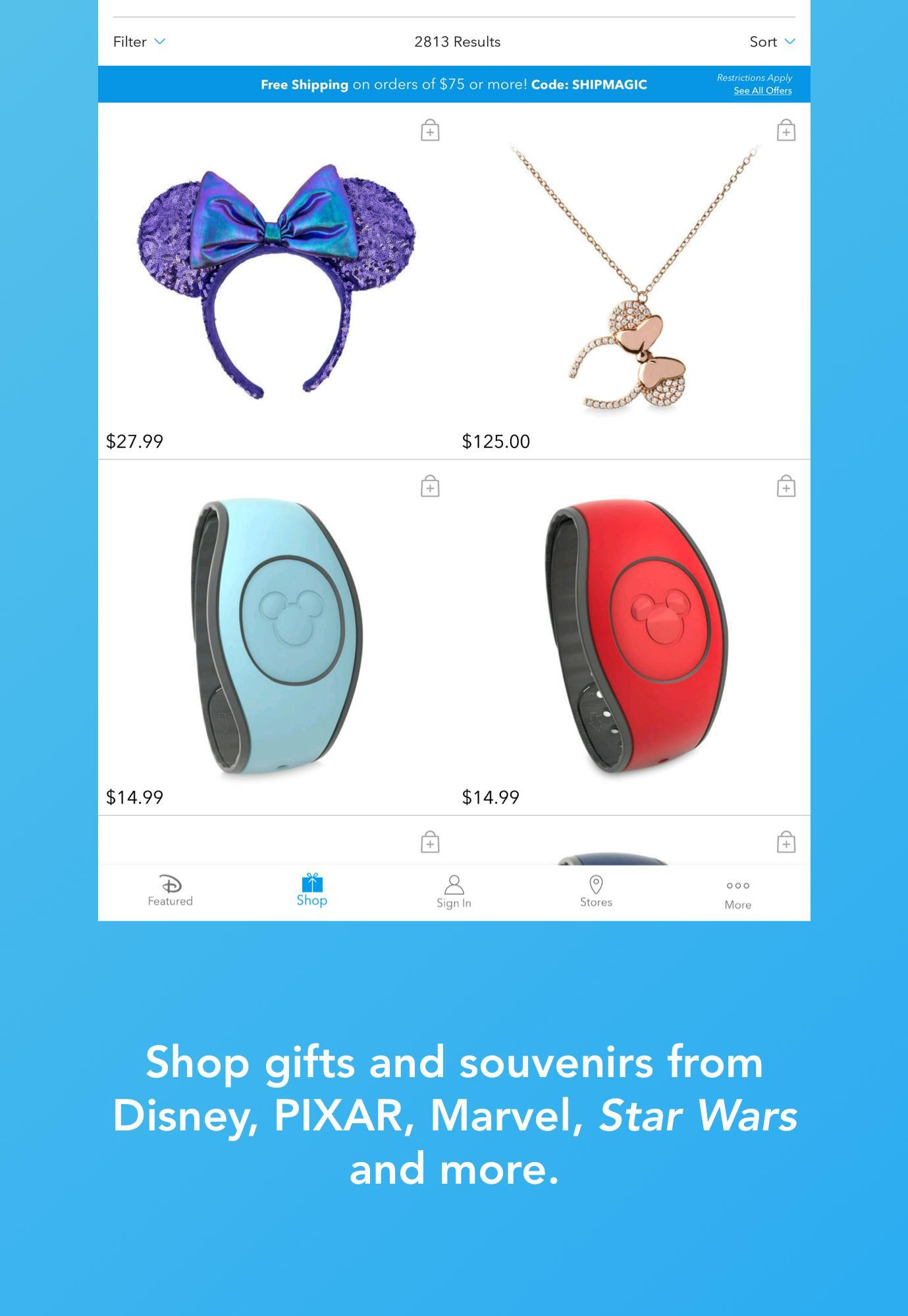 Shop Disney 3.1.1 Screenshot 8
