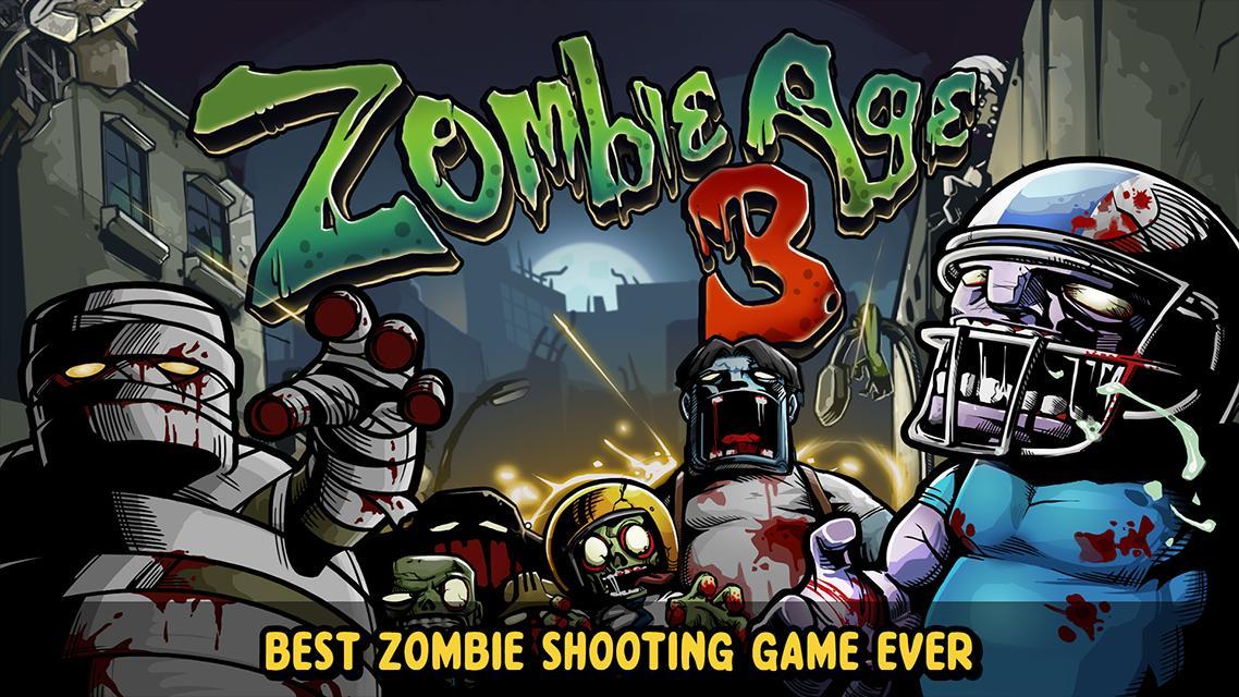 Zombie Age 3 Shooting Walking Zombie: Dead City 1.4.4 Screenshot 1