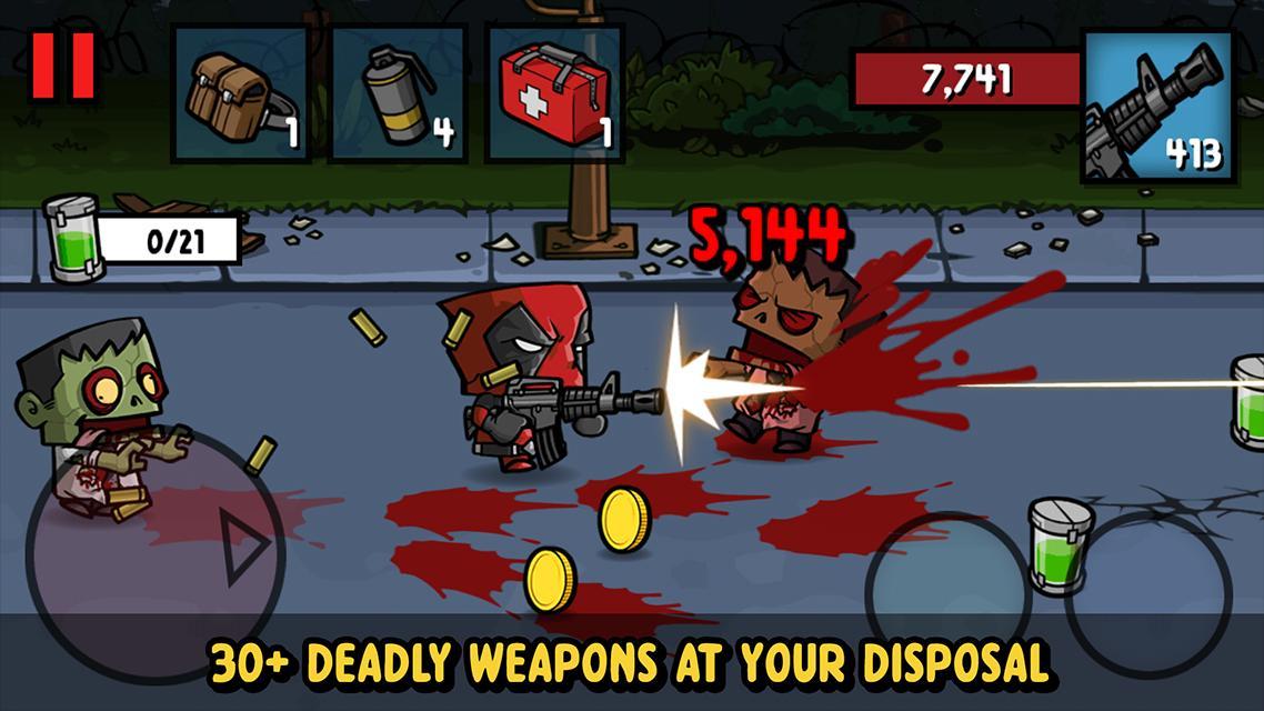 Zombie Age 3 Shooting Walking Zombie: Dead City 1.4.4 Screenshot 4