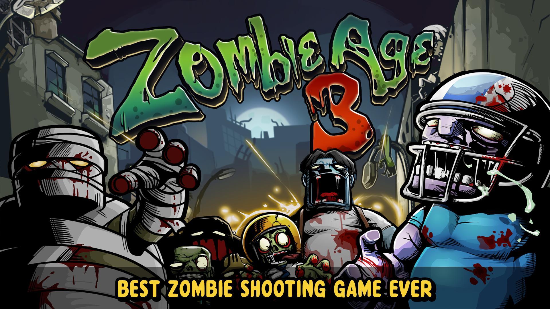 Zombie Age 3 Shooting Walking Zombie: Dead City 1.4.4 Screenshot 8