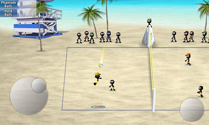 Stickman Volleyball 1.0.2 Screenshot 1