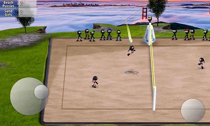 Stickman Volleyball 1.0.2 Screenshot 2