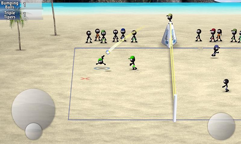 Stickman Volleyball 1.0.2 Screenshot 3