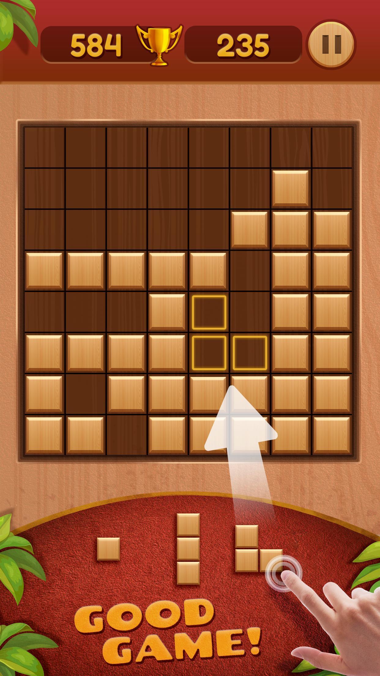 Block Puzzle Wood 3.7 Screenshot 1