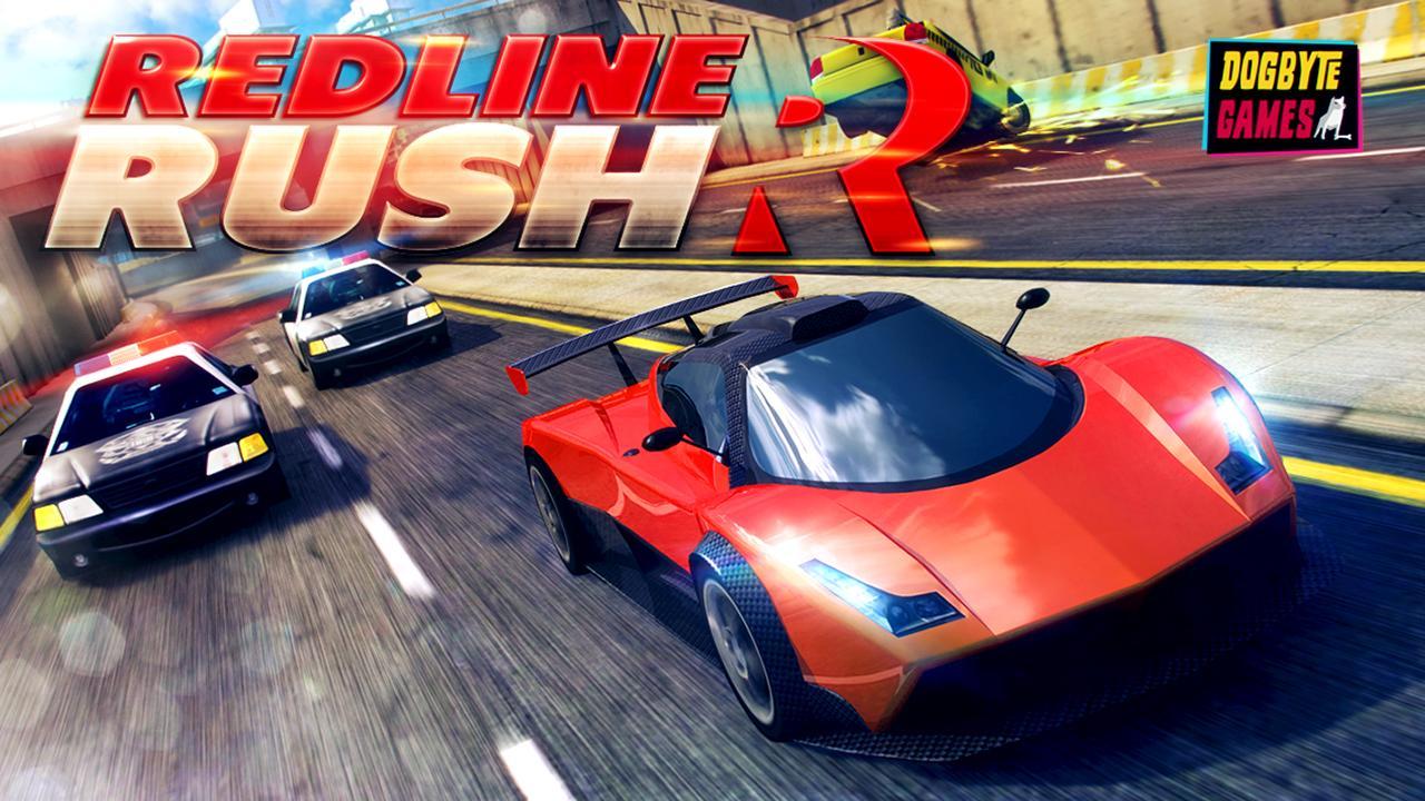 Redline Rush Police Chase Racing 1.3.8 Screenshot 1