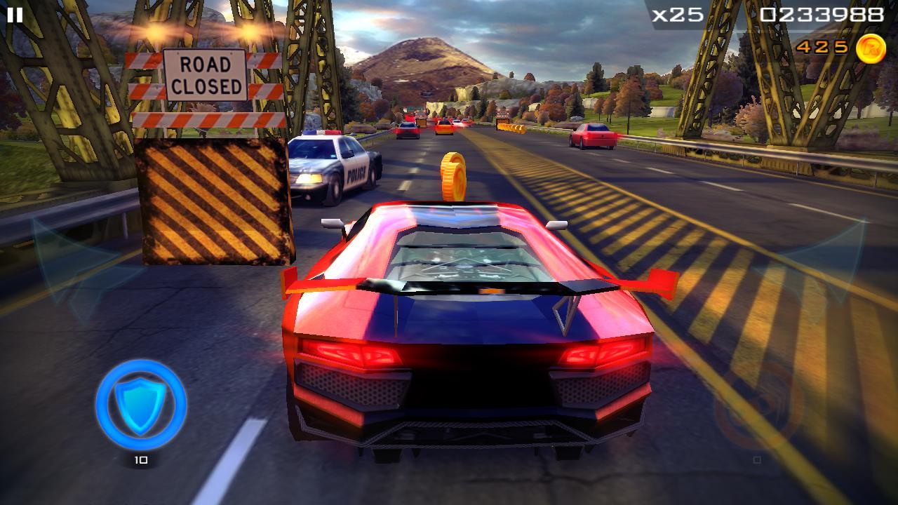 Redline Rush Police Chase Racing 1.3.8 Screenshot 2