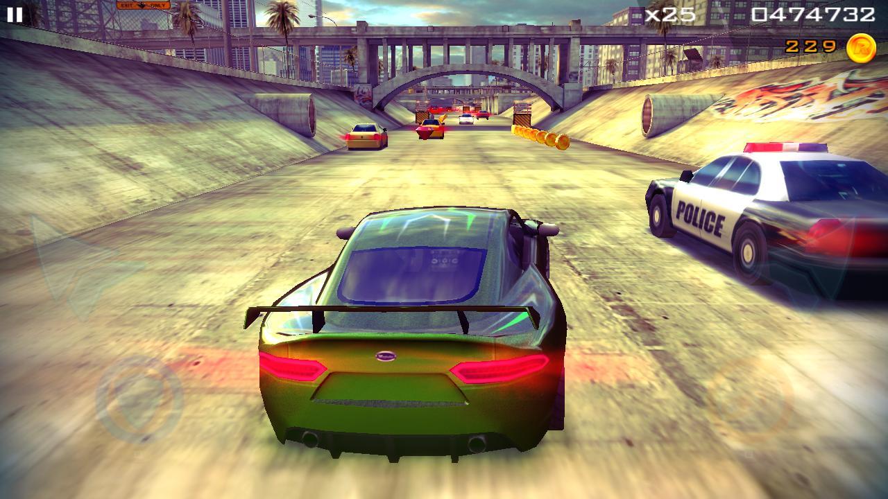 Redline Rush Police Chase Racing 1.3.8 Screenshot 5