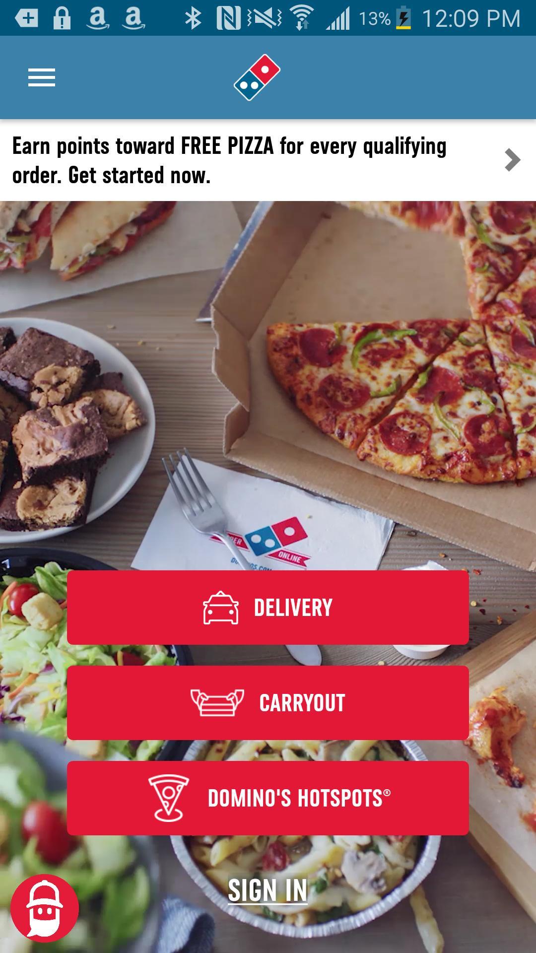 Domino's Pizza USA 6.9.0 Screenshot 1