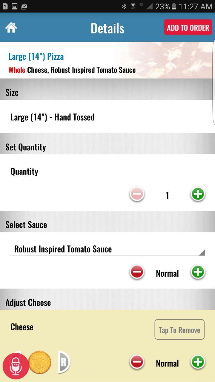 Domino's Pizza USA 6.9.0 Screenshot 4