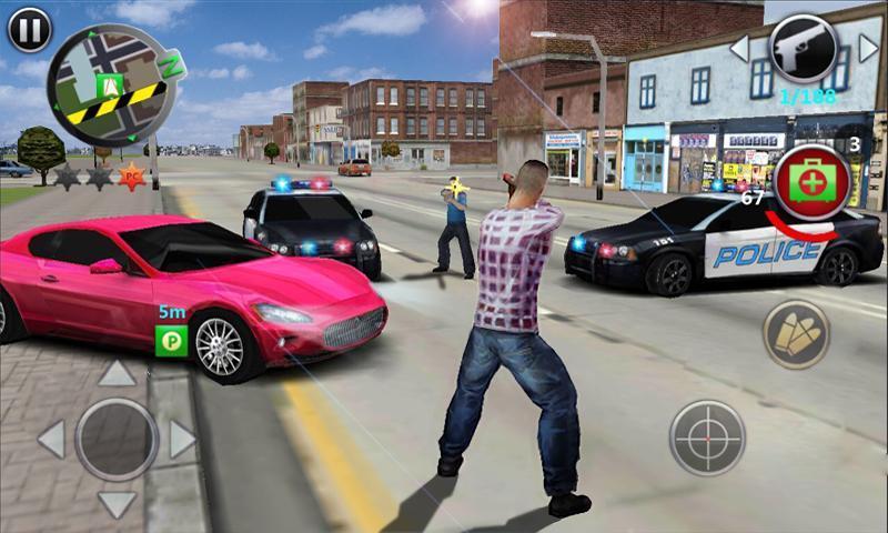 Grand Gangsters 3D 2.2 Screenshot 1