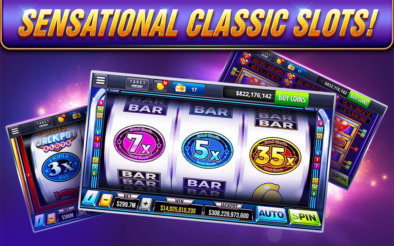 Take5 Free Slots – Real Vegas Casino 2.87.1 Screenshot 14