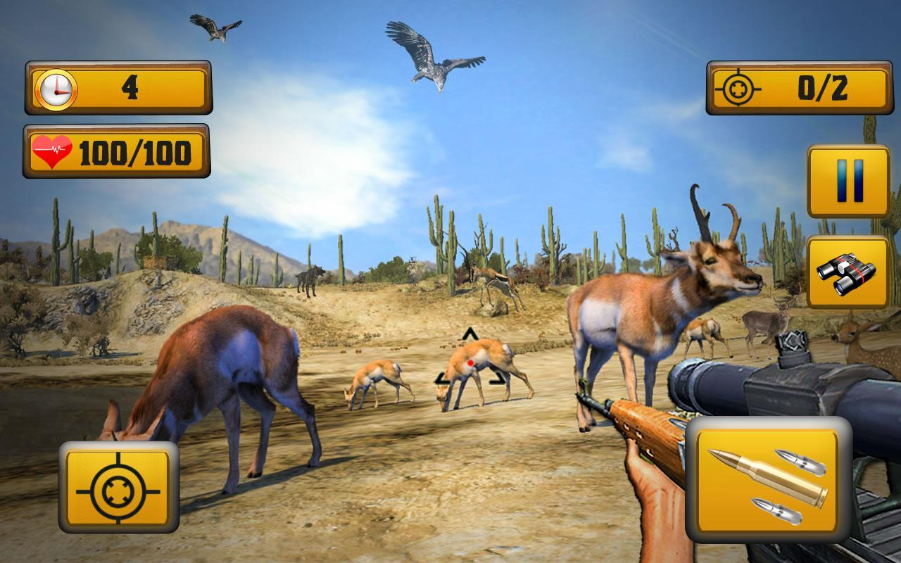 Wild Animal Shooting 1.8 Screenshot 1