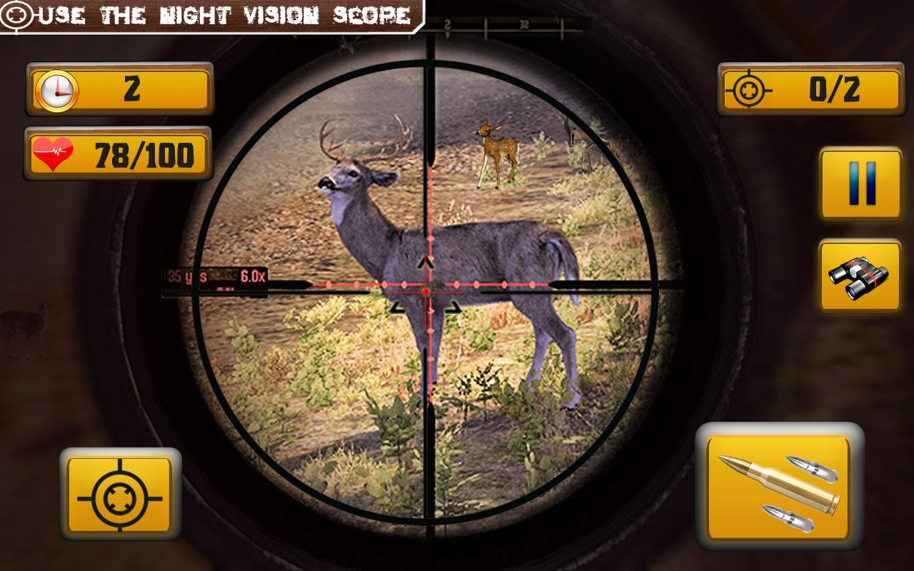 Wild Animal Shooting 1.8 Screenshot 2