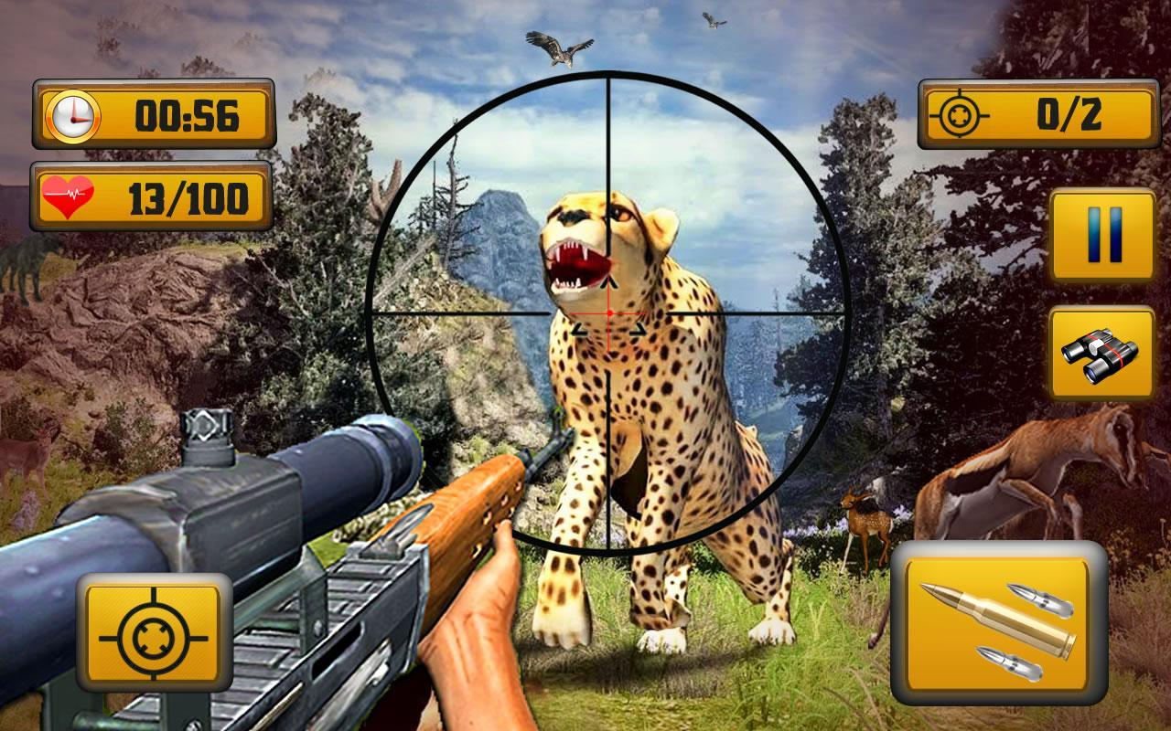 Wild Animal Shooting 1.8 Screenshot 3