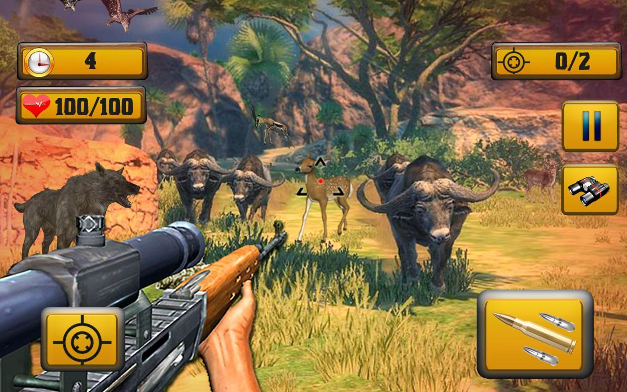 Wild Animal Shooting 1.8 Screenshot 4