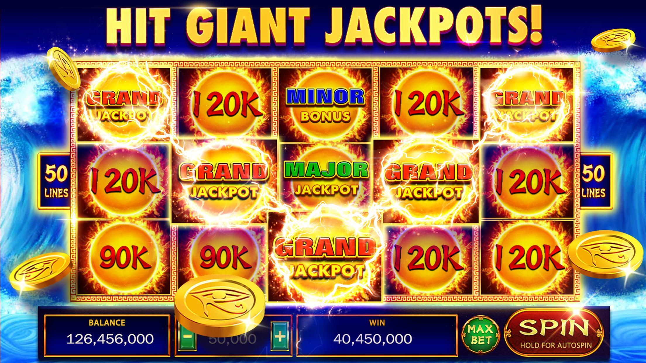 Thunder of Pyramid Slots - Free Casino 5.0 Screenshot 1