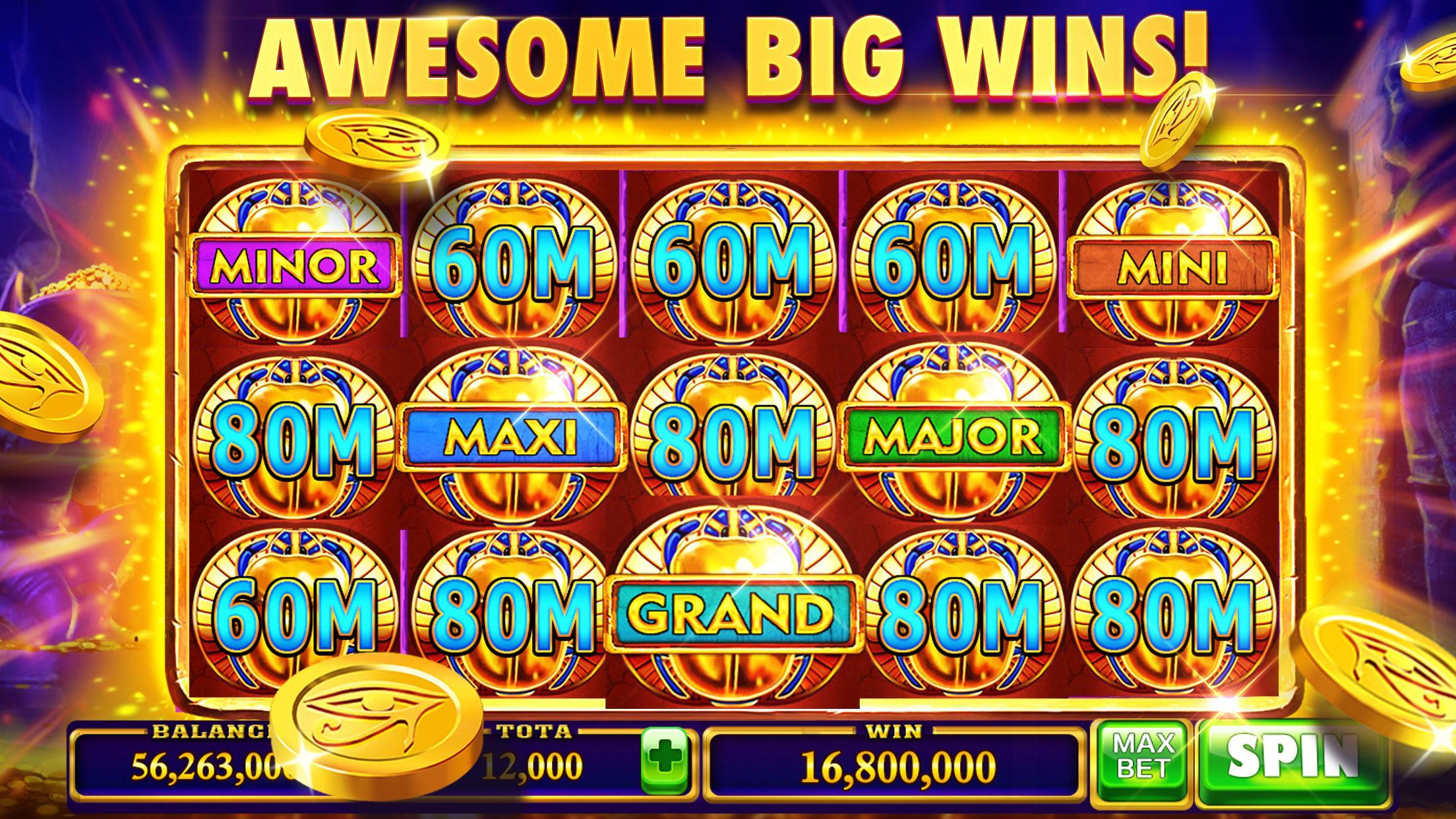 Thunder of Pyramid Slots - Free Casino 5.0 Screenshot 3