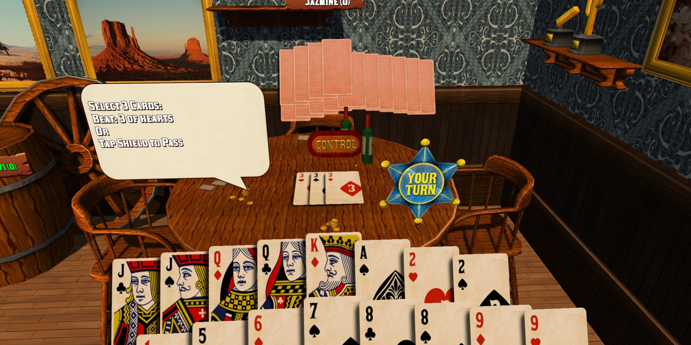 Card Room Deuces & Last Card, Playing Cards 1.2.3 Screenshot 3