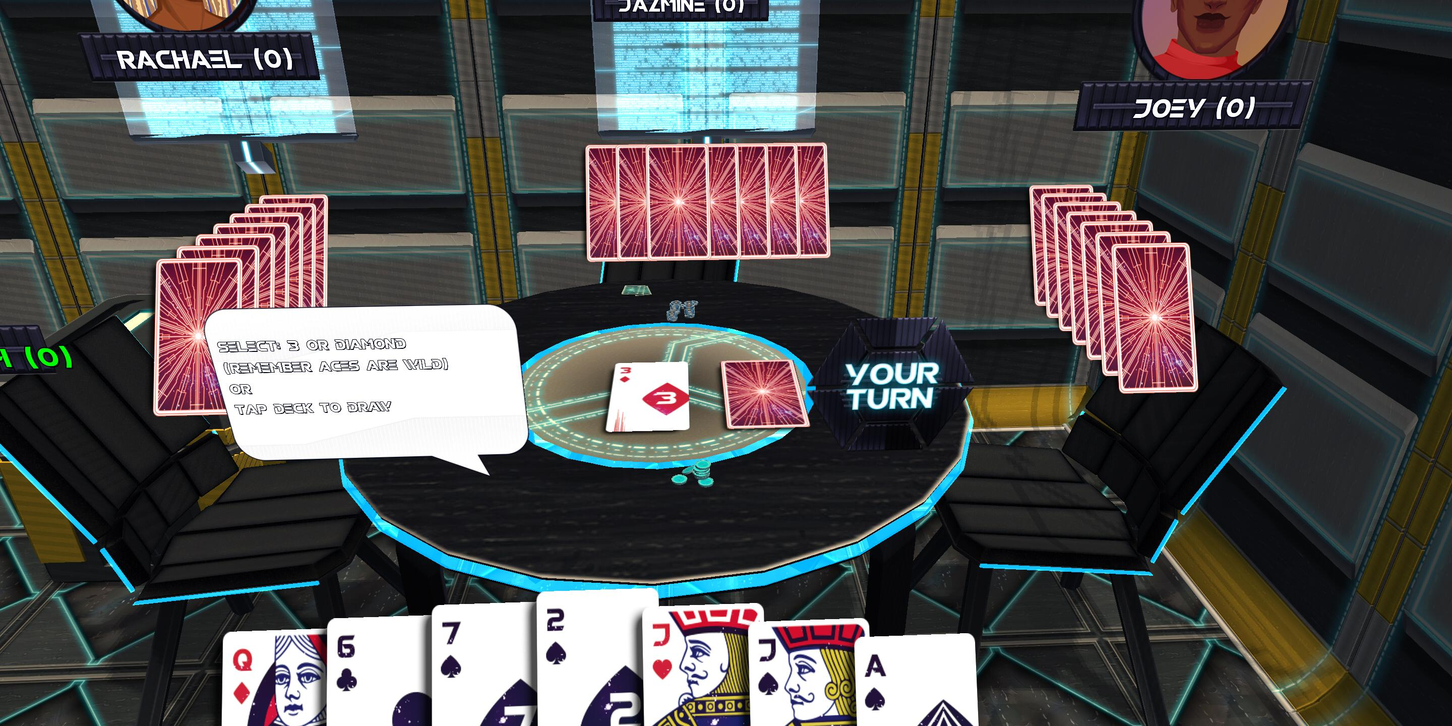 Card Room Deuces & Last Card, Playing Cards 1.2.3 Screenshot 5