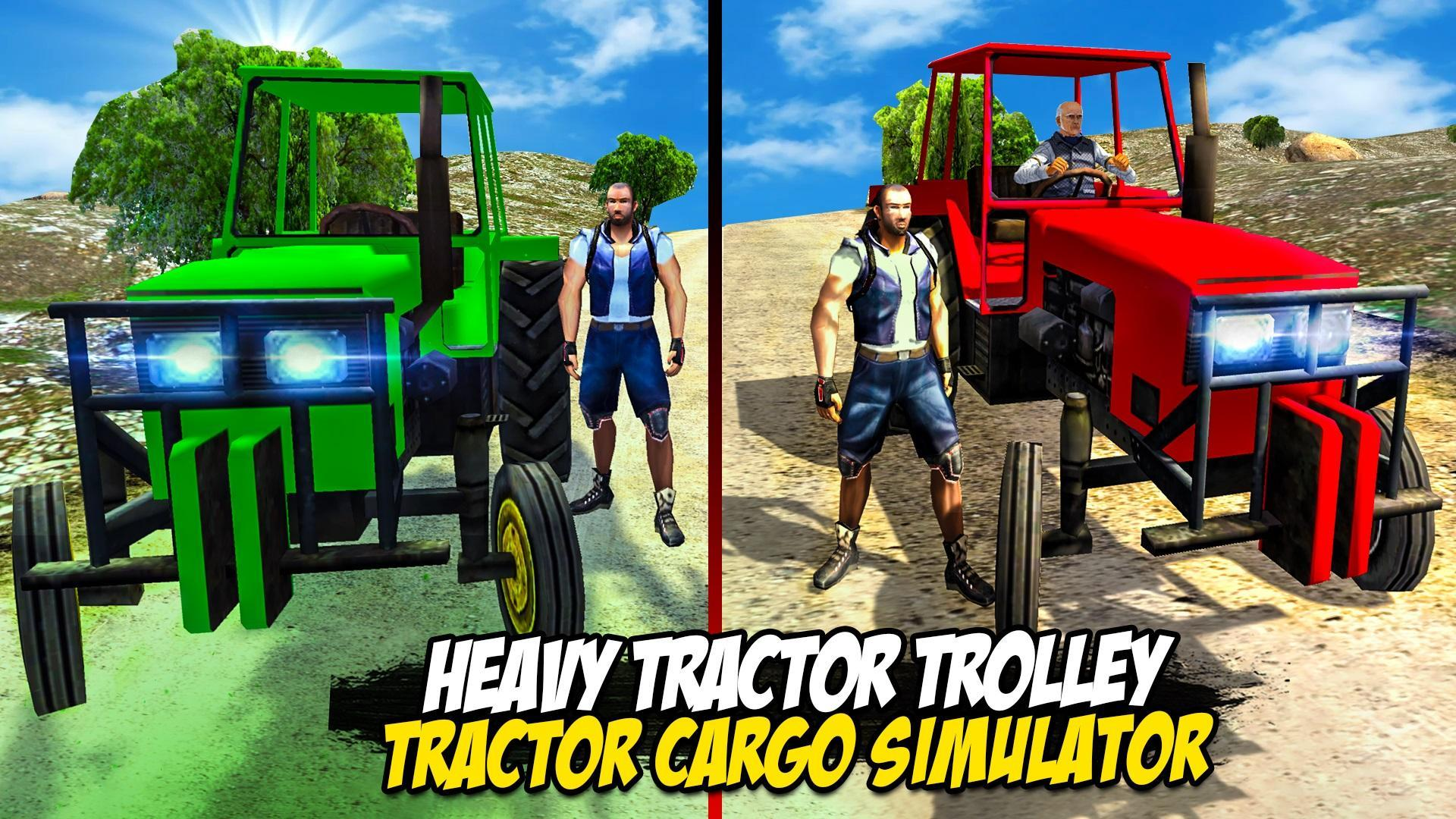 Heavy Tractor Trolley: Tractor Cargo Simulator🚜🚜 3.1 Screenshot 1