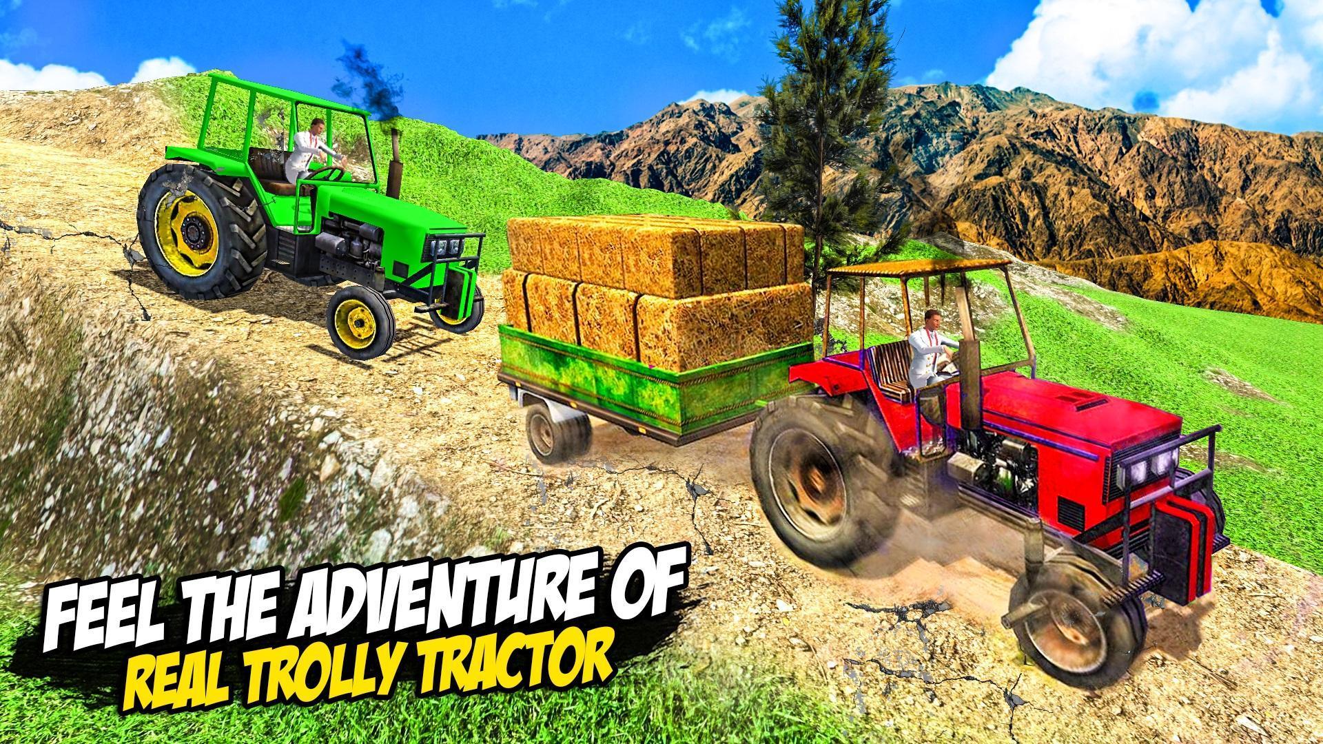 Heavy Tractor Trolley: Tractor Cargo Simulator🚜🚜 3.1 Screenshot 13