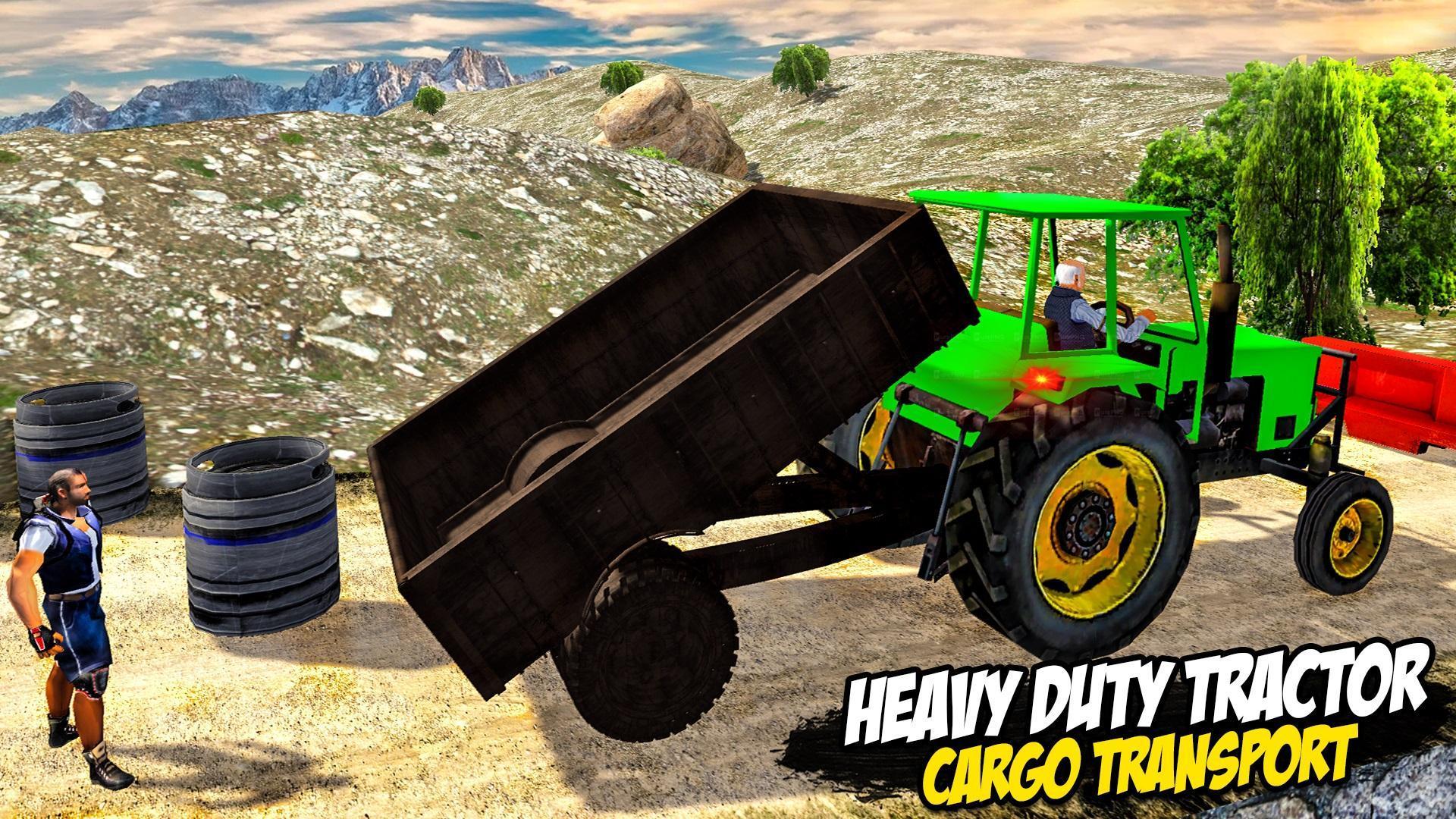 Heavy Tractor Trolley: Tractor Cargo Simulator🚜🚜 3.1 Screenshot 14