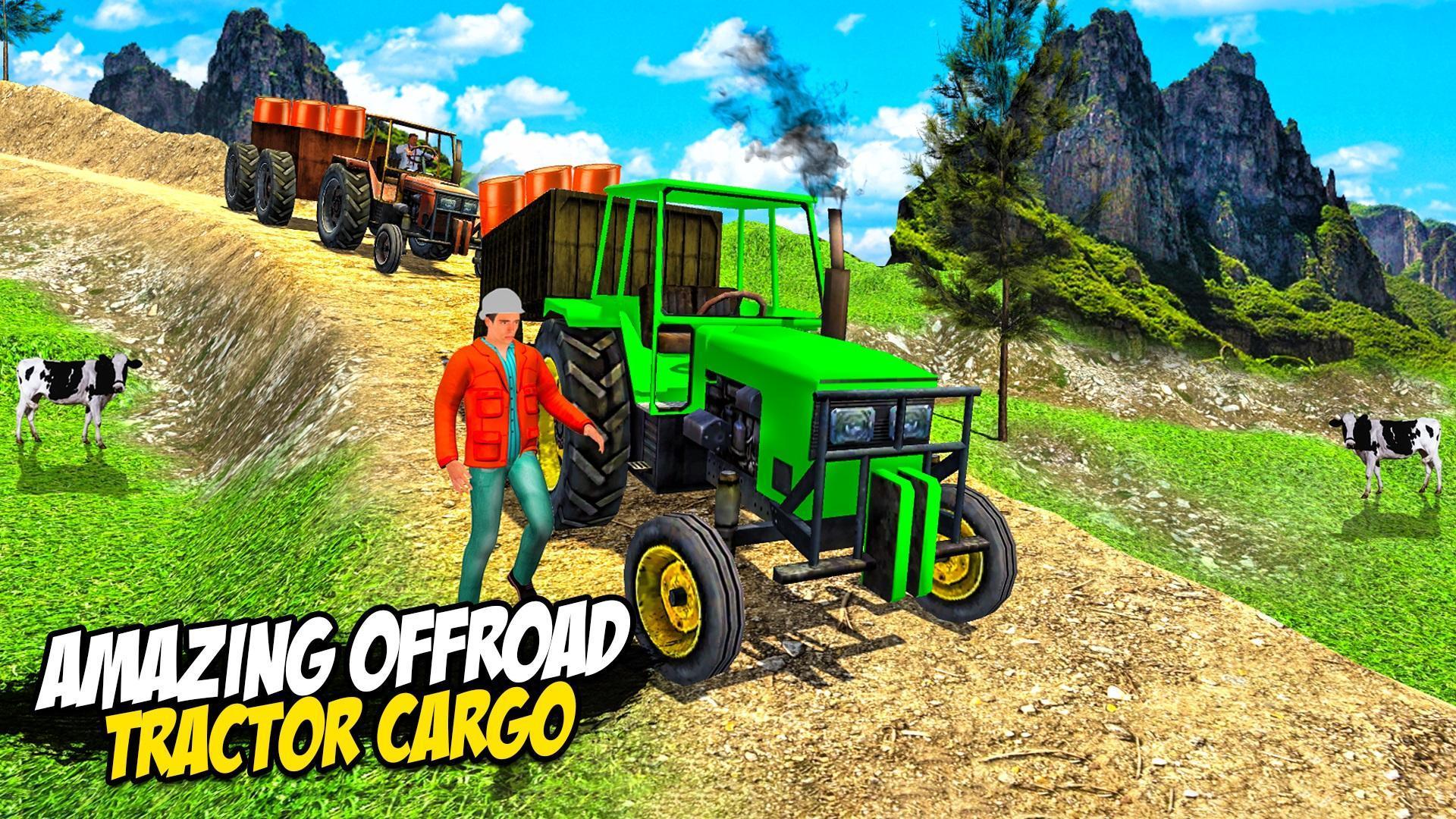 Heavy Tractor Trolley: Tractor Cargo Simulator🚜🚜 3.1 Screenshot 15