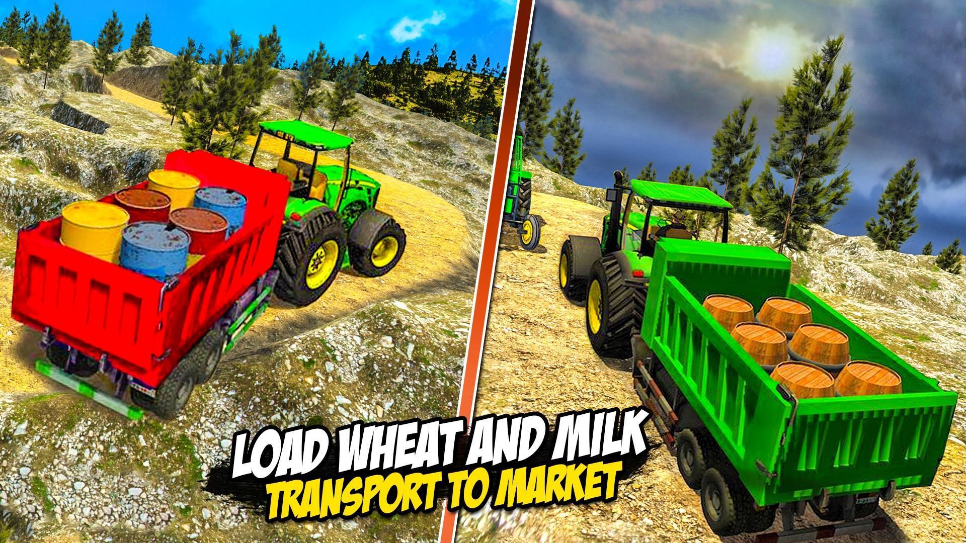 Heavy Tractor Trolley: Tractor Cargo Simulator🚜🚜 3.1 Screenshot 18