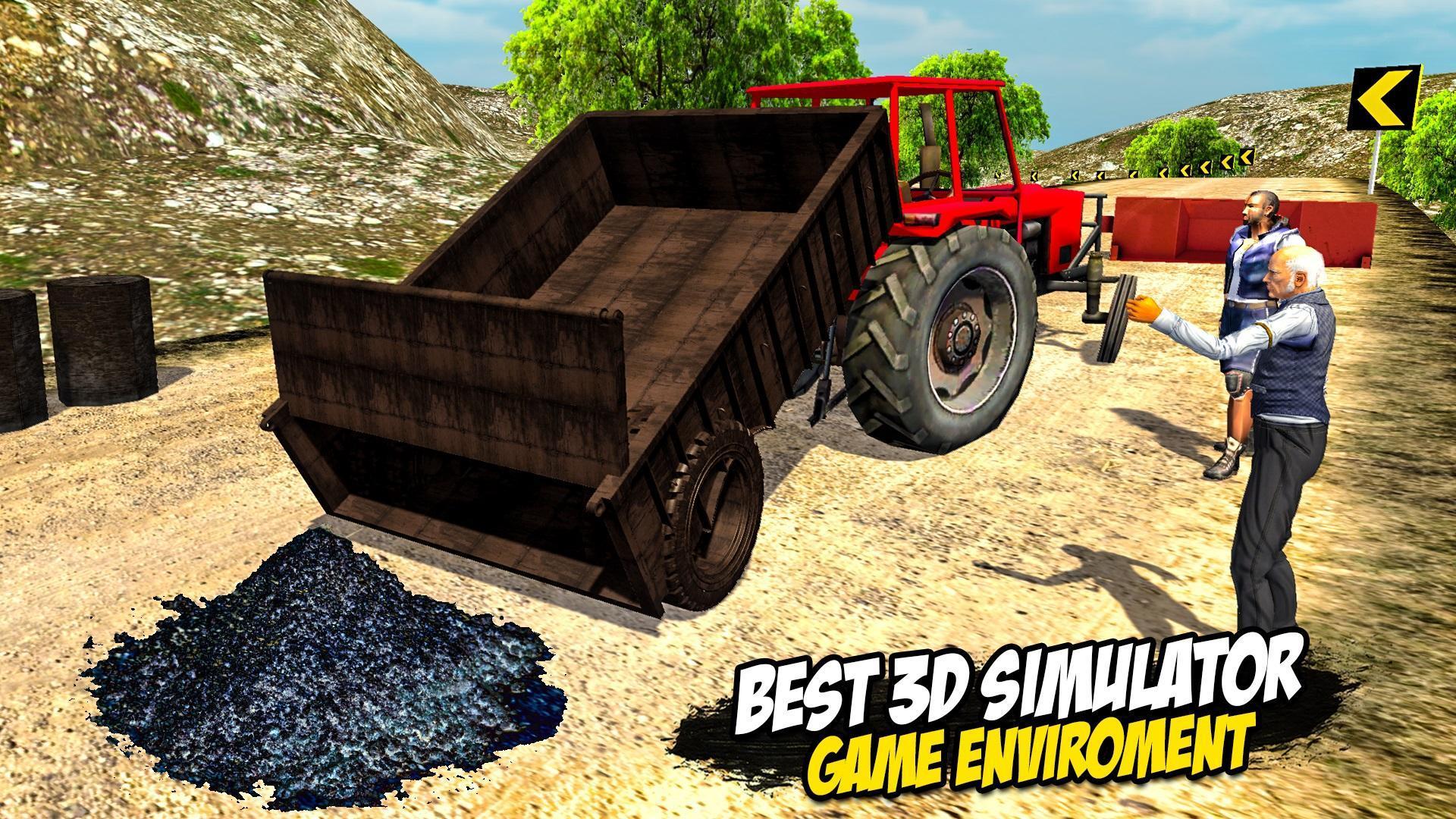 Heavy Tractor Trolley: Tractor Cargo Simulator🚜🚜 3.1 Screenshot 20