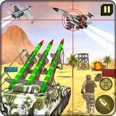 Military Missile Launcher:Sky Jet Warfare app icon