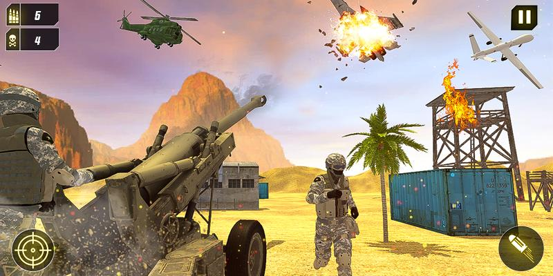 Military Missile Launcher:Sky Jet Warfare 1.0.7 Screenshot 1