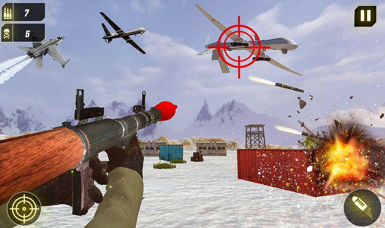 Military Missile Launcher:Sky Jet Warfare 1.0.7 Screenshot 12