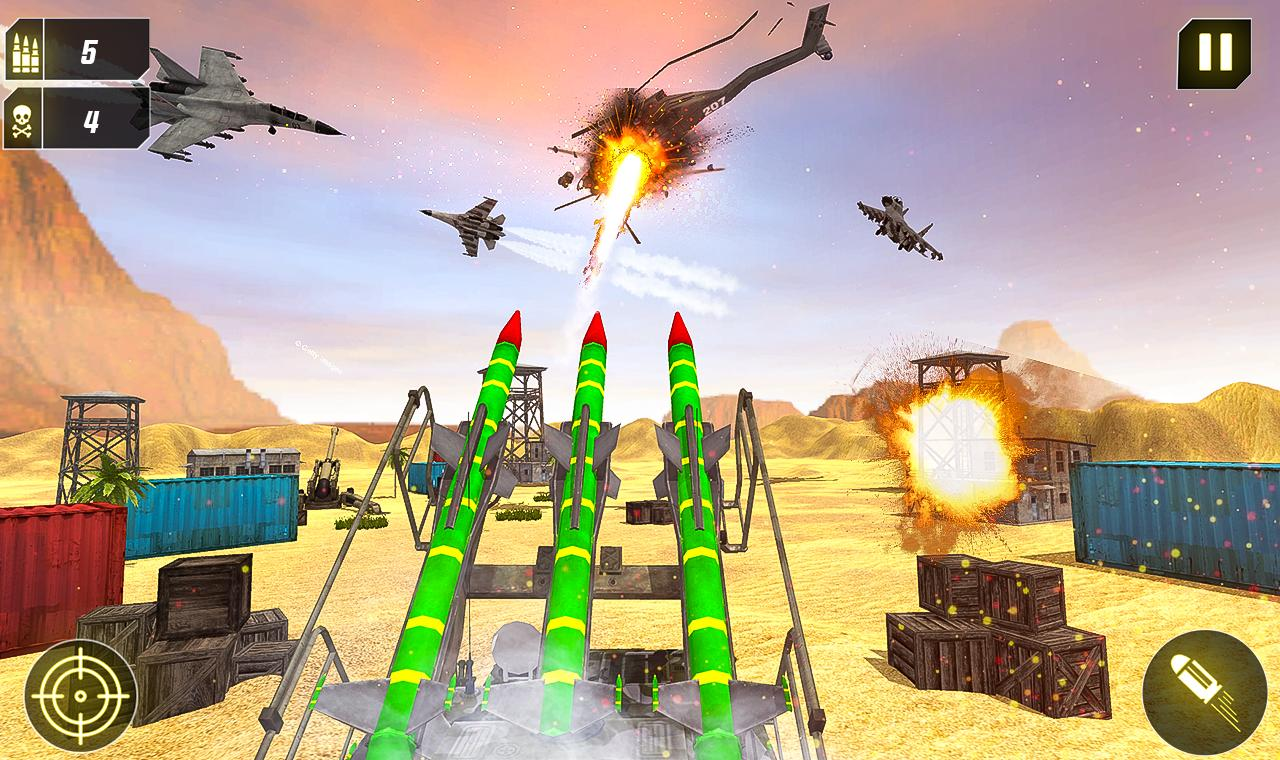 Military Missile Launcher:Sky Jet Warfare 1.0.7 Screenshot 13